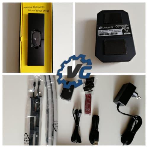Corsair iCue LS100 packaging starter pack