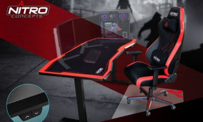 Le gaming desk Nitro Concepts D16M et D16E