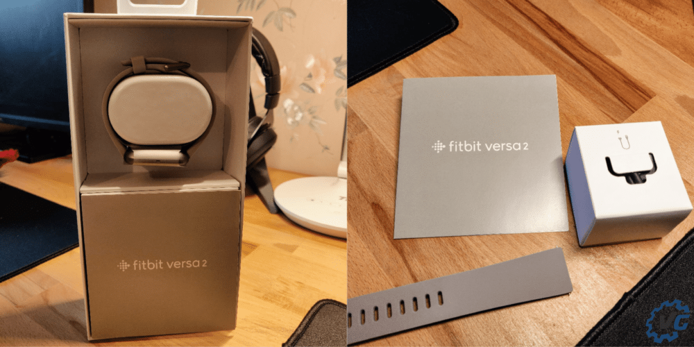 Fitbit Versa 2 unboxing