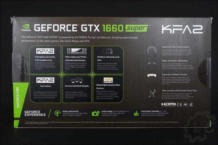La KFA2 GTX 1660 Super EX