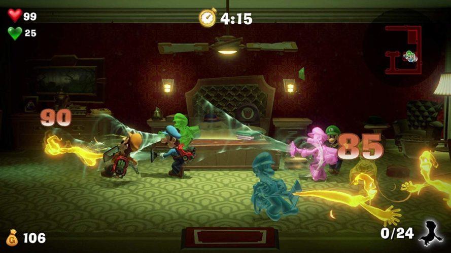 Mode multijoueur Luigi's Mansion 3