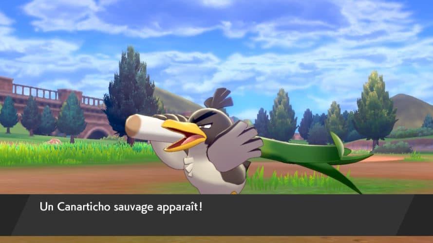 Canarticho dans Pokemon Epee
