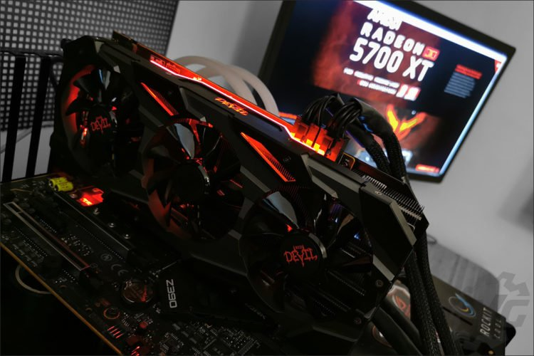 La Powercolor RX 5700 XT Red Devil