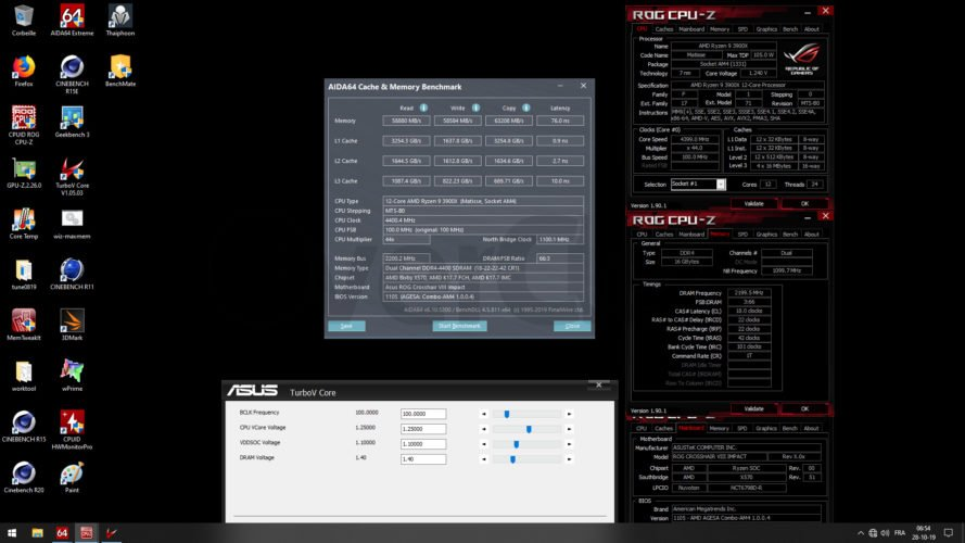 Overclocking Thermaltake ToughRam 3600 C18