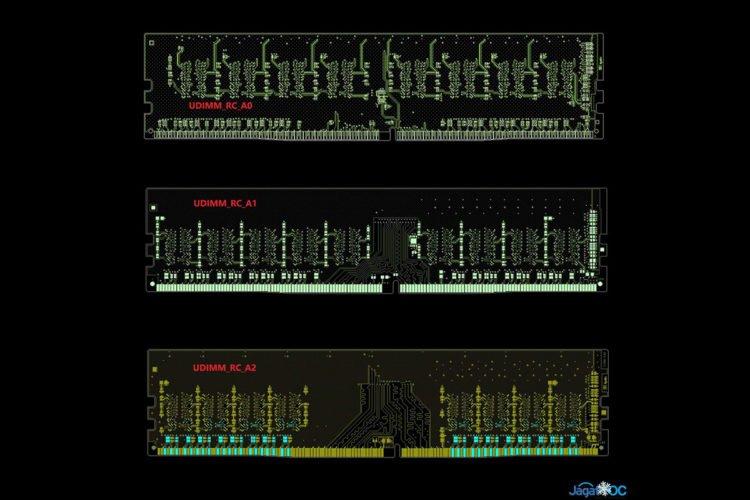 PCB memoire A0, A1 et A2