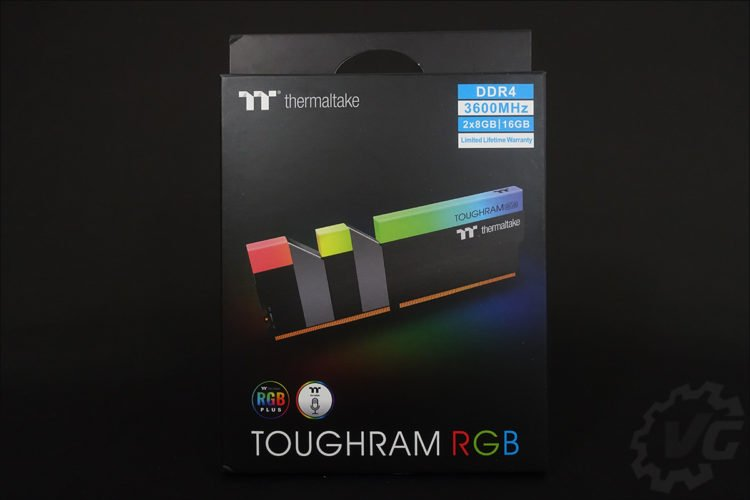 Le kit Thermaltake ToughRam 3600 MHz C18