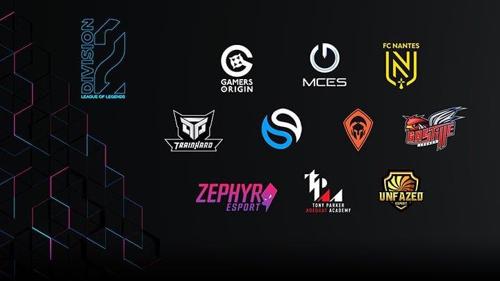 Esport League of Legends - Division 2