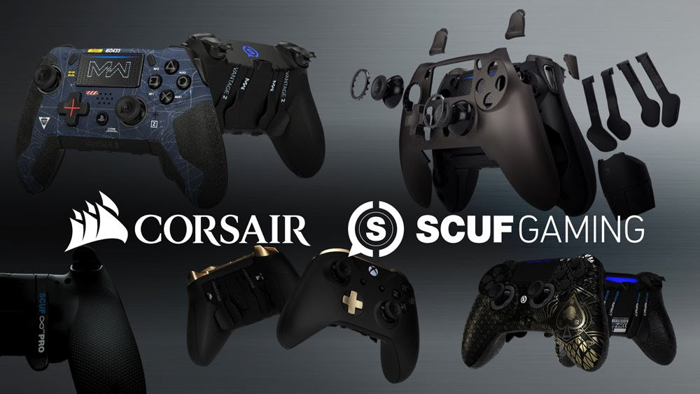 Corsair rachat Scuf Gaming