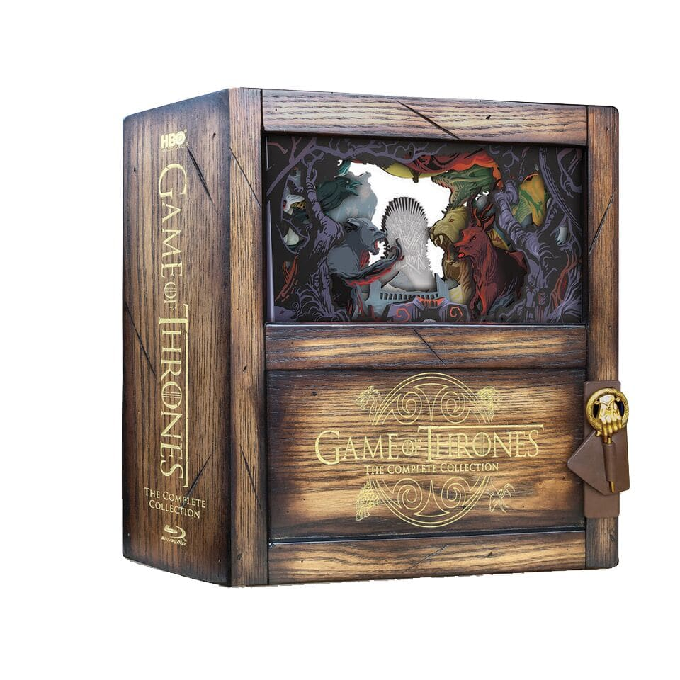 Coffret collector game of thrones