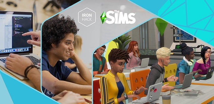 Ironhack Sims bourse
