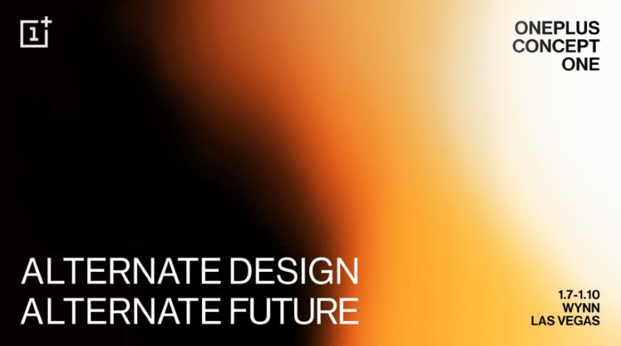 Image d'annonce du OnePlus Concept One
