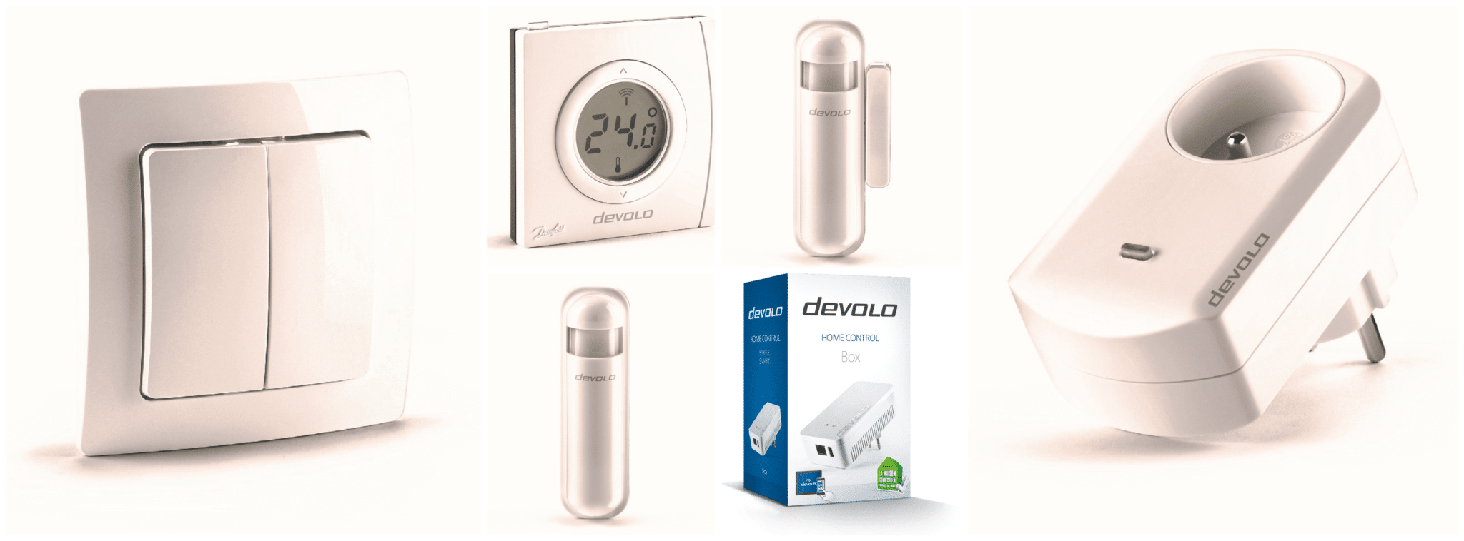 Pack domotique Home Control Devolo