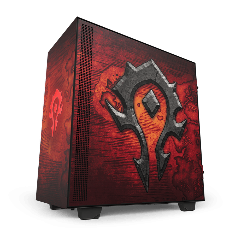Boîtier H510 World of Warcraft par NZXT