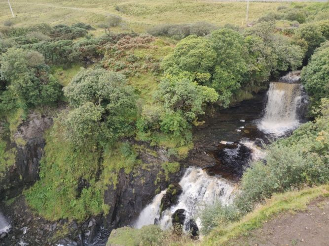 Road Trip in Scotland old man of storr