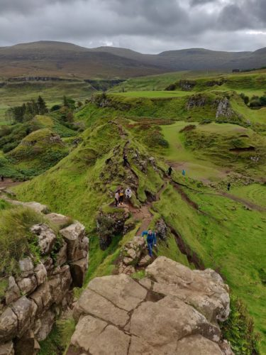 Road Trip in Scotland fairy glenn