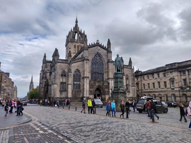 Road Trip in Scotland Edimbourg