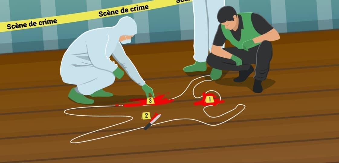 Escape Kit - Madame Duroy - Une scène de crime