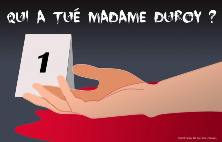 Escape Kit - Madame Duroy - Poster