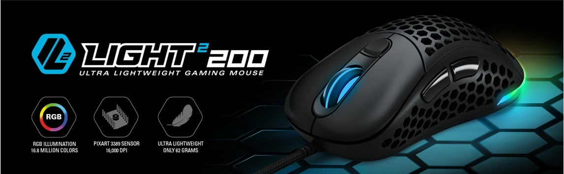 Souris Light² 200 de Sharkoon