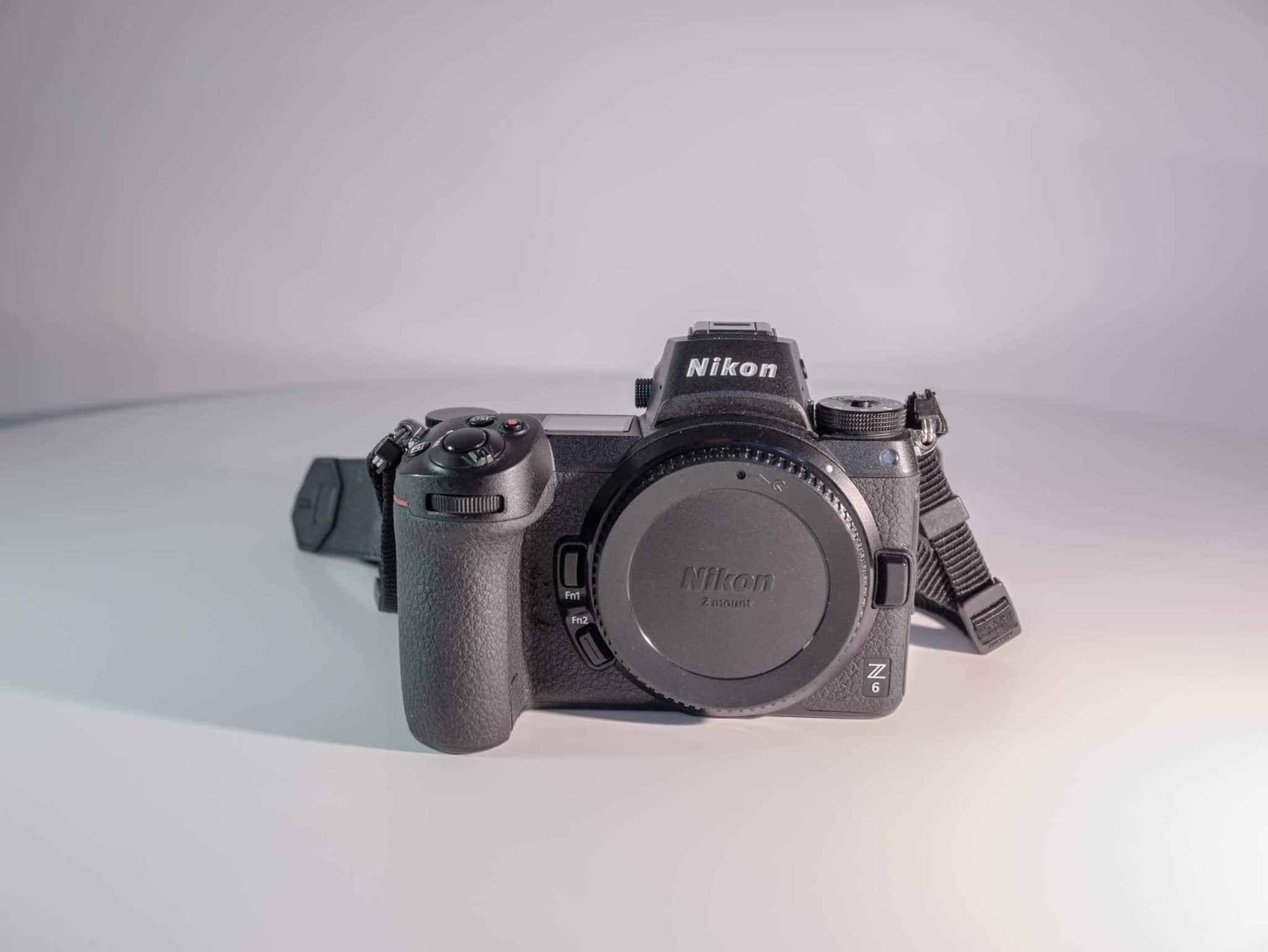 Photo du Nikon Z6 frontale