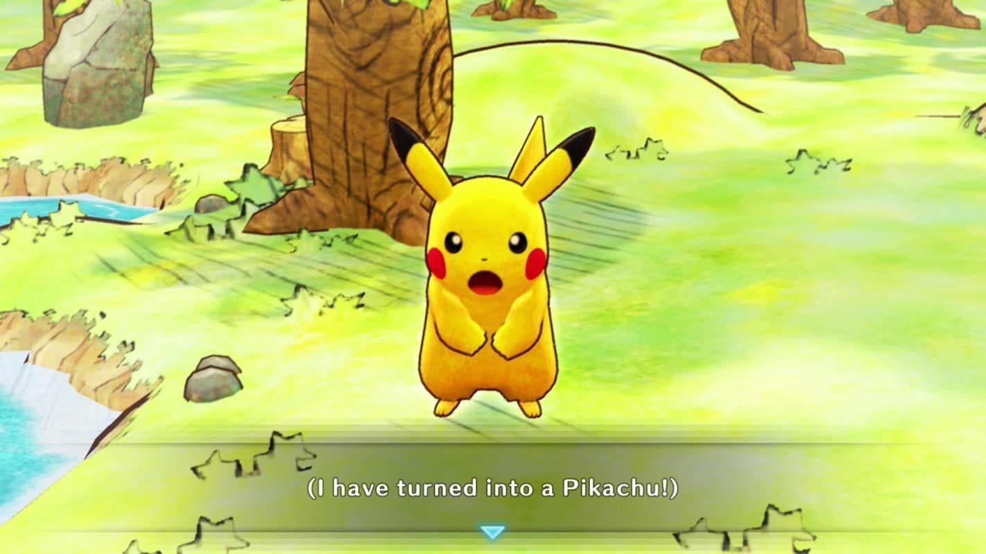 Je me suis changé en pikachu !