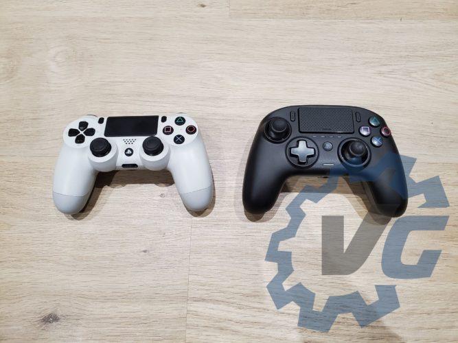 Revolution Pro Controller 3 comparaison DualShock test vonguru