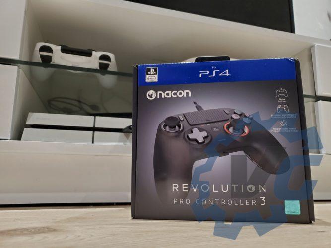 Revolution Pro Controller 3 unboxing 1 test vonguru