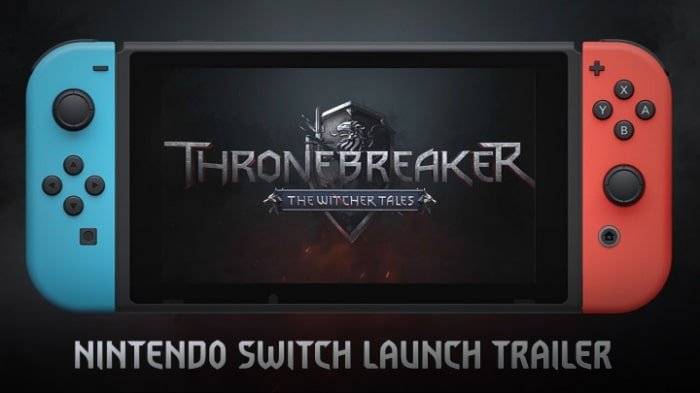 Thronebreaker sur Nintendo Switch
