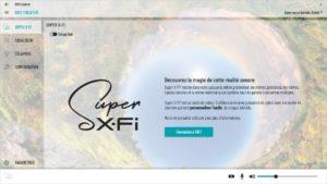 App SXFI Control Super X-Fi