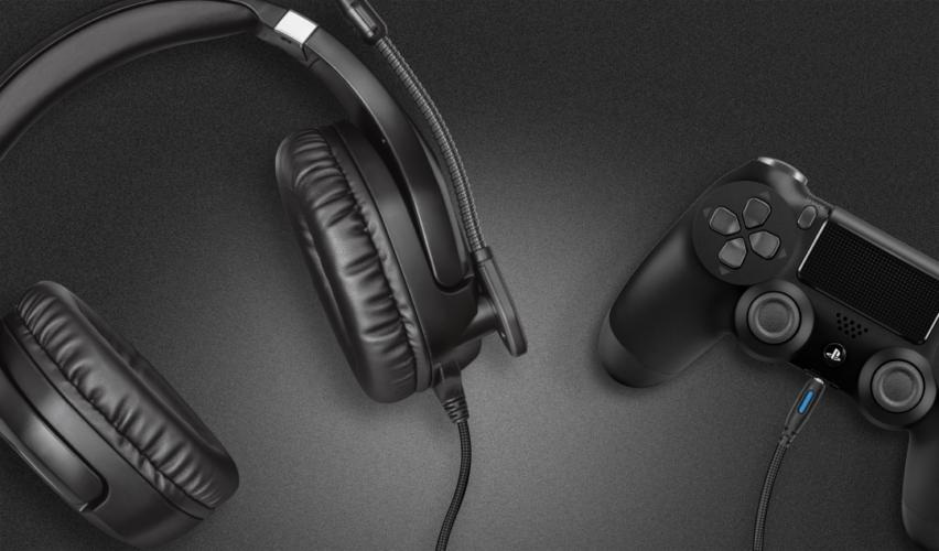 Connexion du casque à la manette de PS4