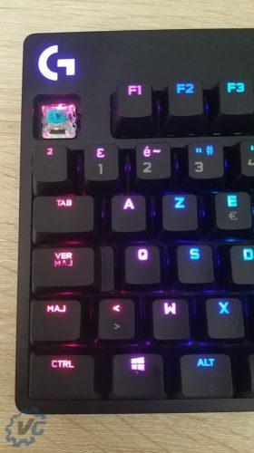 Logitech Pro - Blue Switch