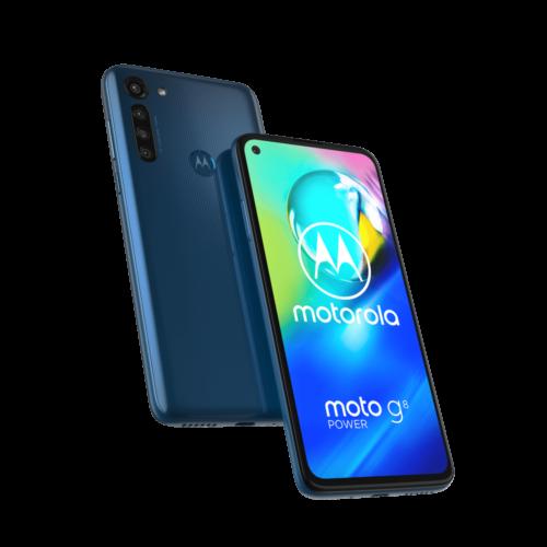Moto g8 power bleu