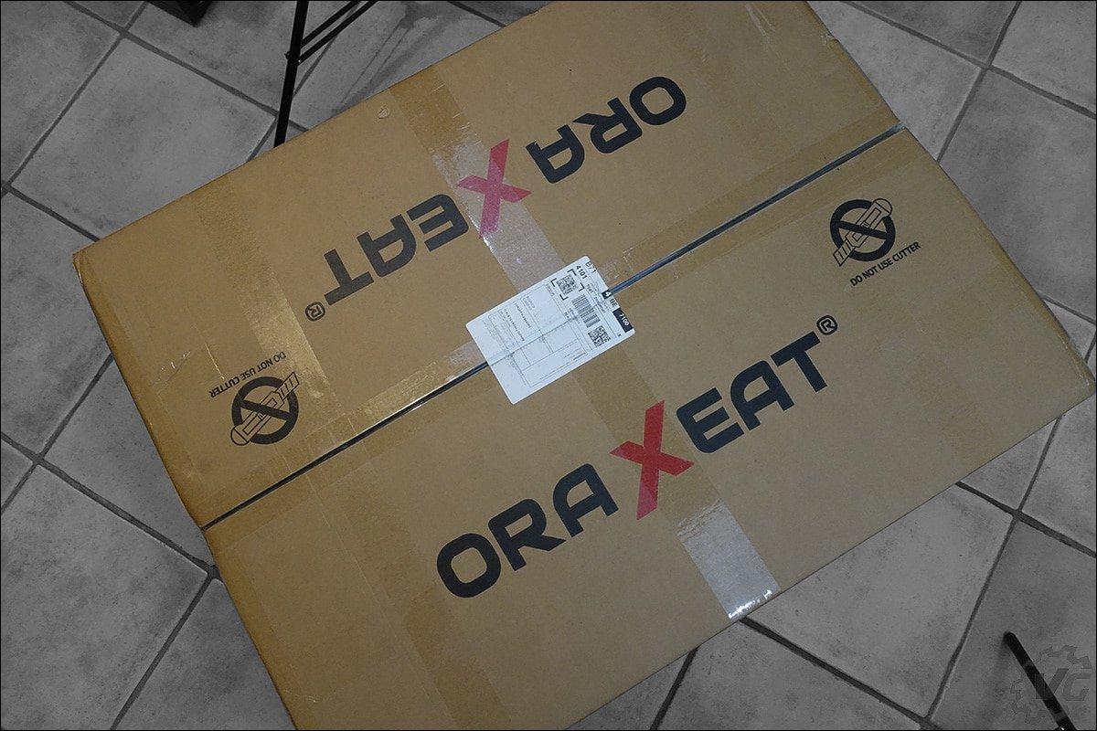 Les éléments du MX850 de chez Oraxeat