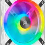Ventilateur Corsair QL120 RGB White