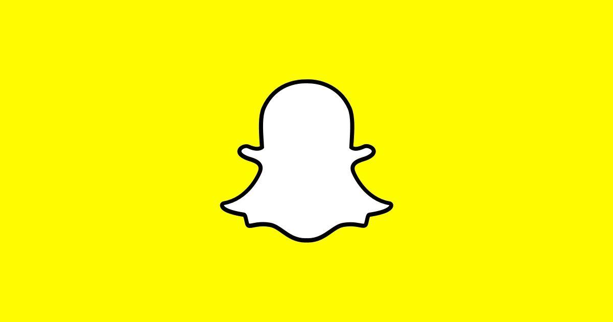 Snapchat logo Une