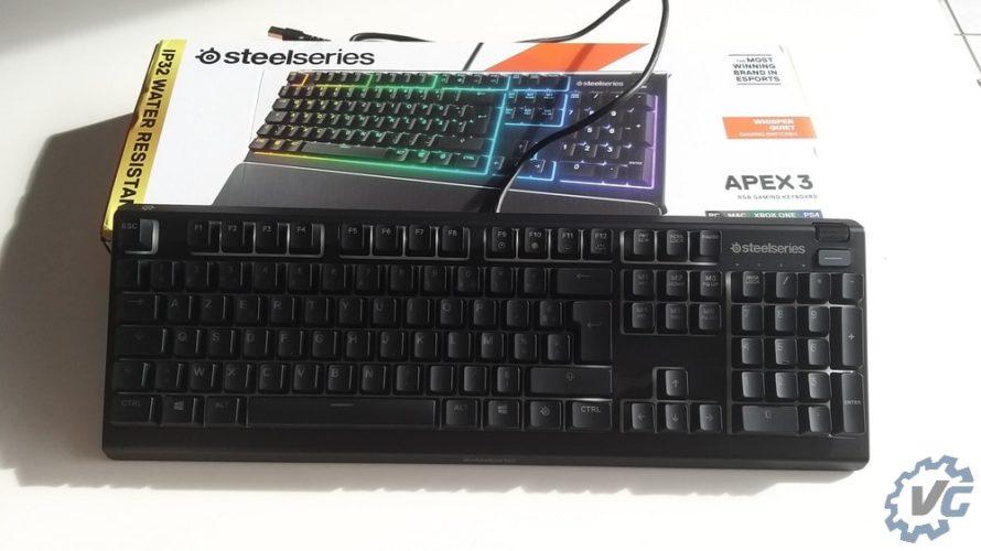 Ouverture du clavier Apex 3