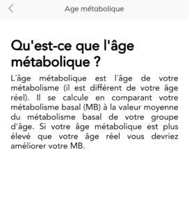 Âge métabolique