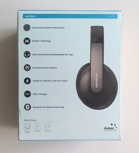 Casque Soundcore Life Q10 Anker Unboxing