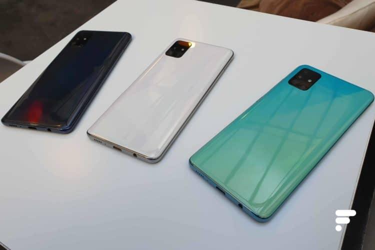 Coloris Samsung Galaxy A51