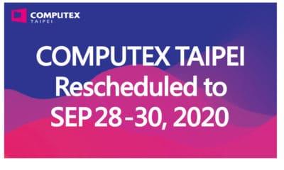 Computex Taiwan reporté