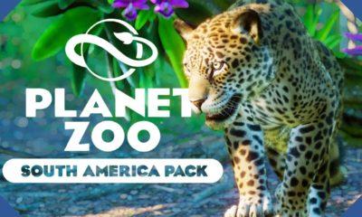 Image d'une pour l'annonce du DLC Amérique du Sud pour Planet ZOO