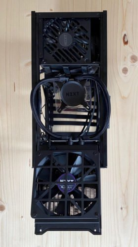 Le boitier NZXT H1 aio