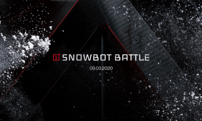 Cover OnePlus Snowbot battle