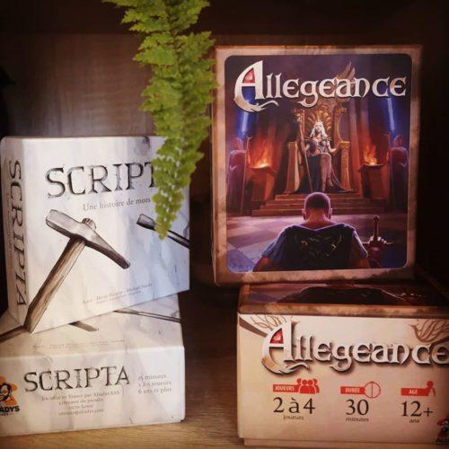 Scripta Allégeance