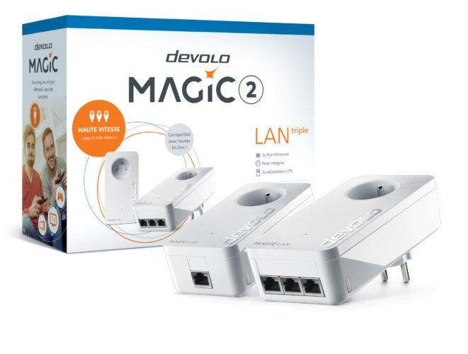Concours Devolo Magic 2 LAN triple - présentation du kit