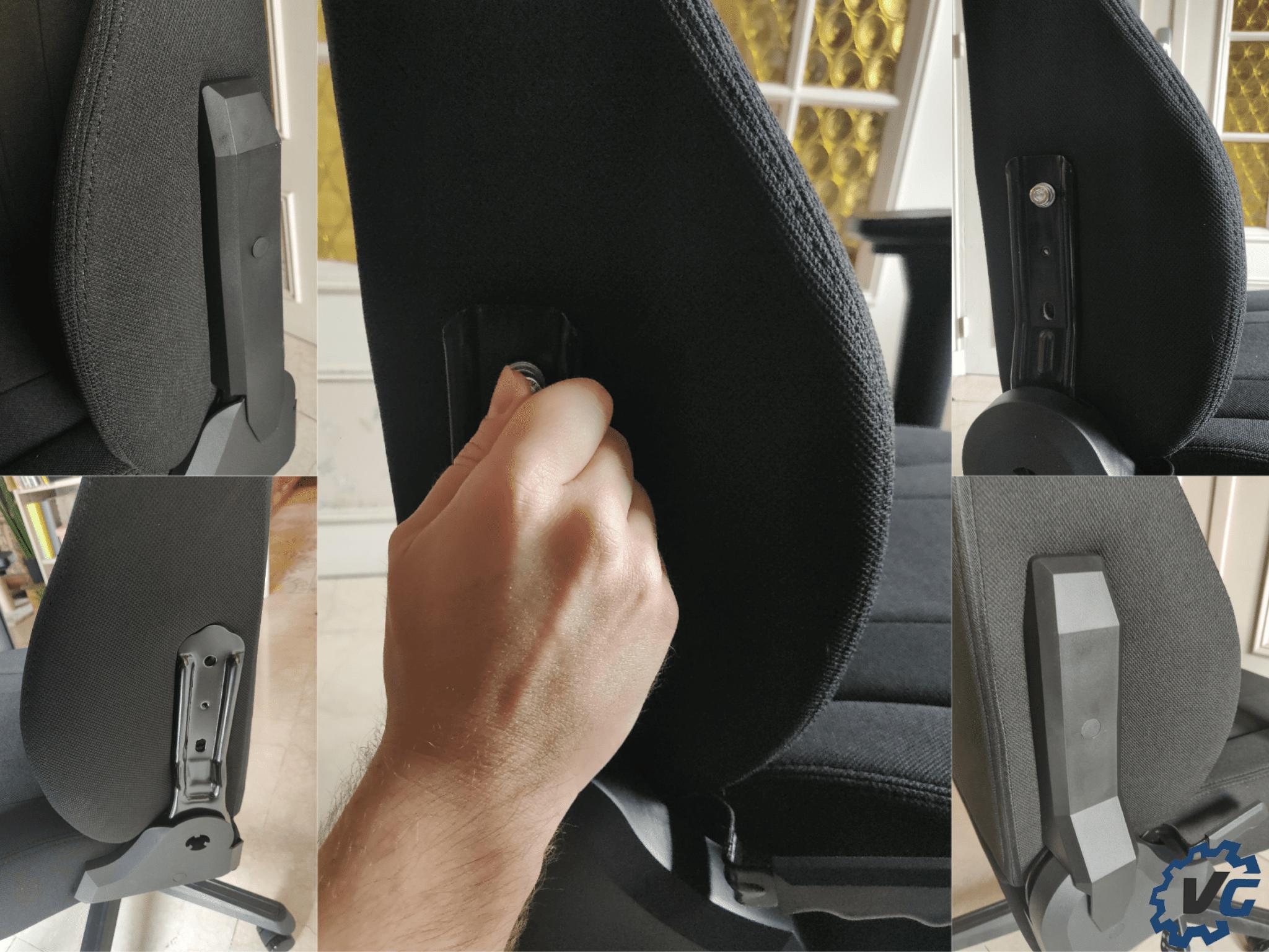 Montage Fauteuil Nitro Concept E250