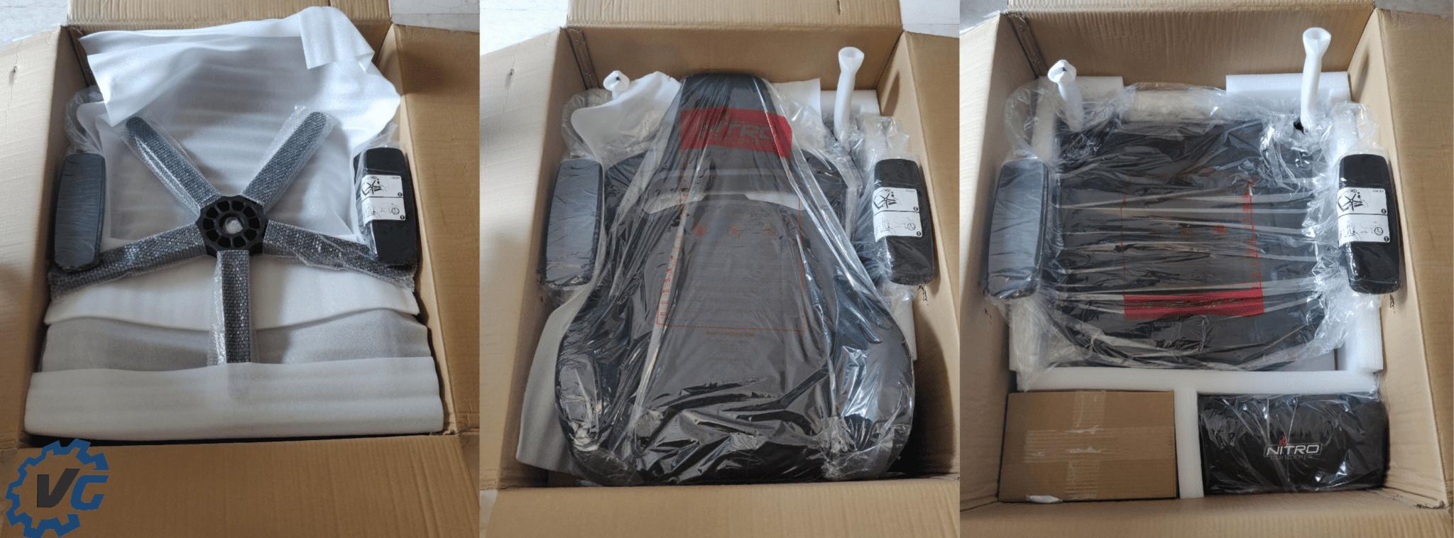 Unboxing Fauteuil Nitro Concept E250