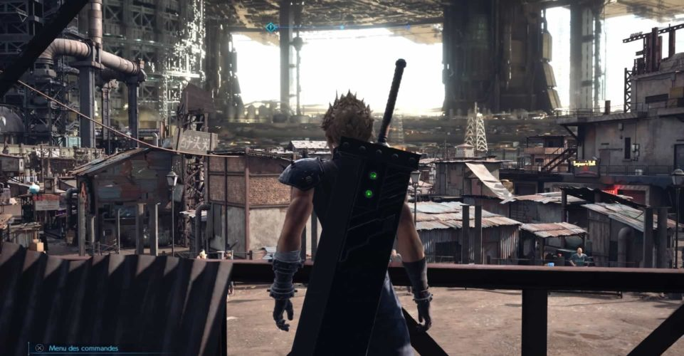 test de final fantasy VII remake - Midgar