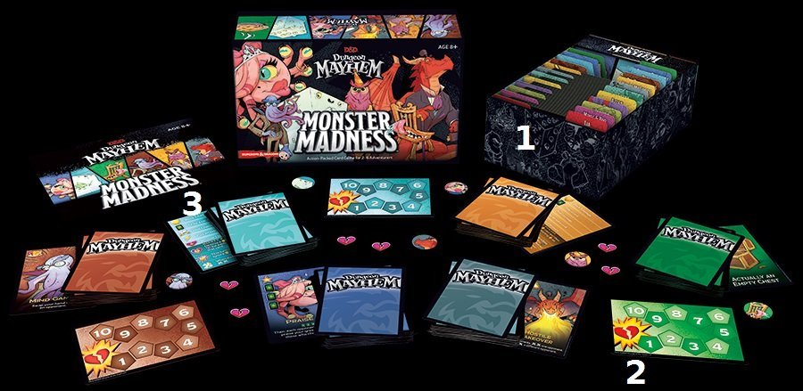 Add-on de Dungeon Mayhem : Monster Madness - présentation du jeu