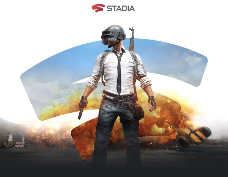 image une de la collaboration entre Stadia et PUBG